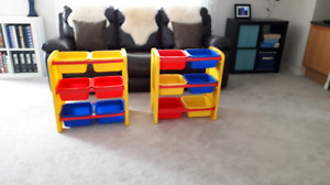 Toy storage (Edmonton, west end Hamptons)
