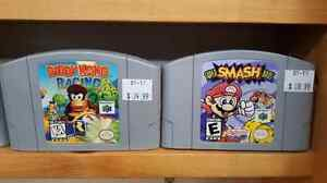 N64☆Super Smash Brothers☆Zelda☆Goldeneye☆Consoles -$79.99☆