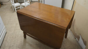 KRUG DINNING SET-DROP LEAF AND MORE WITH 4 CHAIRS