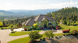 Kelowna Luxury Estate with 3 homes and Pear Orchard
