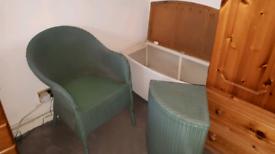 Set of Vintage Llyod Loom Furniture