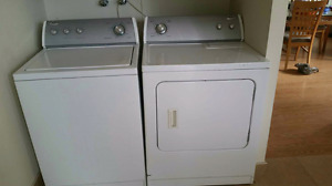 (Sold)Whirlpool Washer and Dryer