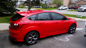 2014 Focus ST  with Ford Racing pkg