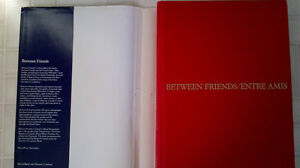 Between Friends/Entre Amis - 1st Edition - Hardcover Kitchener / Waterloo Kitchener Area image 3