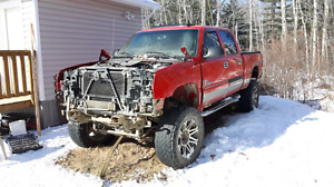 2006 chevy 2500hd parting out