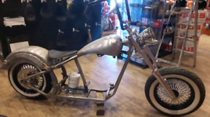 Softail rolling chassis...200 rear tire