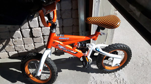 12 inches bike with training wheels