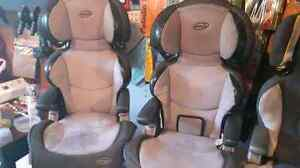 Evenflo booster seats with back and reading lights