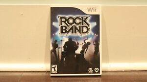 Rock Band Game Set (2008, Used)