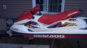 1996 seadoo gsx with paperwork