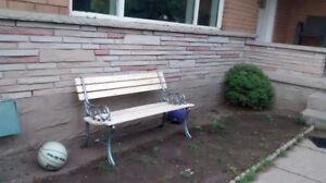 Cast Iron Bench mint condition