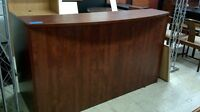"BRAND NEW RECEPTION DESKS, 36"" BY 72"" WALNUT AND CHERRY 345.00 Mississauga / Peel Region Toronto (GTA) Preview"