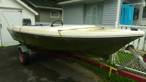 Boat trade for Tent Trailer