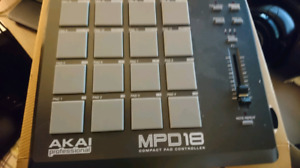 Akai Professional MPD Compact pad controller