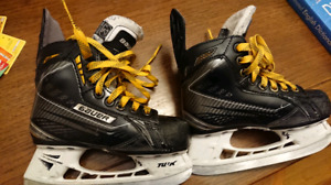Bauer supreme 190 skates size youth 12