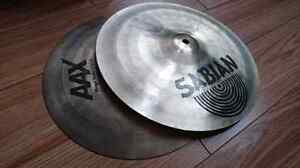 Sabian AAX stage hats 13 inches cymbal Super deal! West Island Greater Montréal image 1