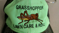 Grasshopper fall cleanup