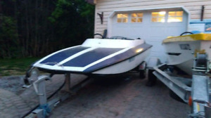 Mini Baja Speed Boat and 40 H.P outboard motor