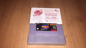 Nintendo SNES Star Fox Super Weekend Competition Mint Card