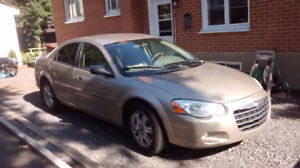 2004 Chrysler Sebring Limited Berline NÉGOCIABLE