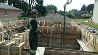 Concrete Forming For Custom Homes