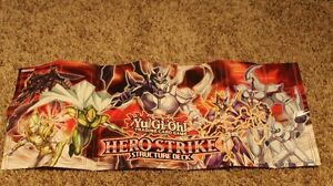 Yu-Gi-Oh! Trading Card Game: HERO Strike Structure Deck Duel Mat