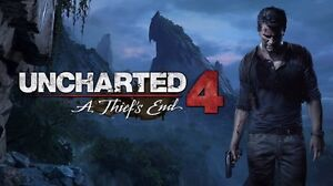 New copy of uncharted 4 ps4