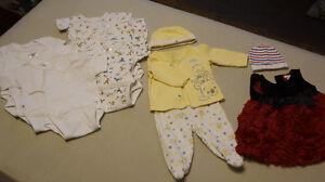 Vêtements de 0 – 3 mois