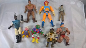 80s Action figures, Thunder Cats, TMNT etc