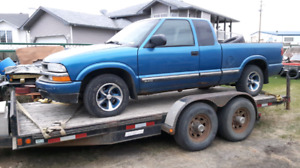 Selling parts  from 2002    Chev  S10