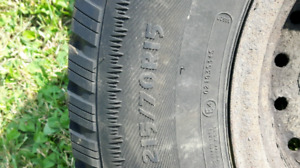 215 - 70 - 15 Arctic Claw Snow Tires