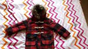Size 4 girls winter coat