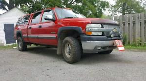 8.1 L 2002 Chevy 2500 Ls