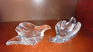 Crystal Dove Candle holders