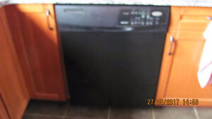 Whirlpool built-in dishwasher in Black