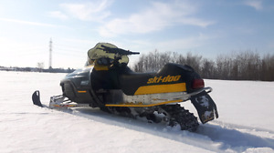 2003 skidoo mxz 600 with ownership