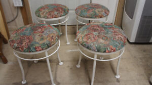 4 STOOLS IN EXCELLENT CONDITION