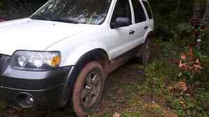 2005 ford escape for parts or woods buggy