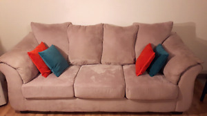Sofa and loveseat(5 places)