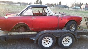 1967 Sunbeam Alpine FOR PARTS.  WITH OWNERSHIP!