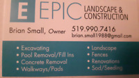 Epic Landscape & Construction