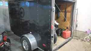 6 x 10 Enclosed Trailer with Ramp Door