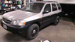 01 mazda tribute 4x4 for trades