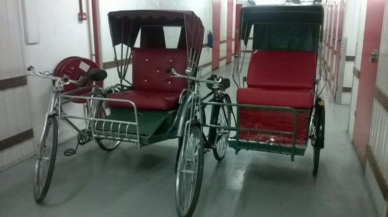 trishaws for rental