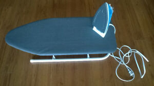 Iron + Table Top Ironing Board (Set)