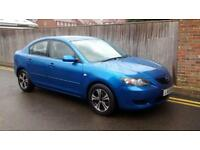 MAZDA3 1.6 TS 4dr AUTOMATIC LOW MILES 2005 78K BLUE 5 DOOR