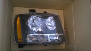 07-14 Tahoe New Headlights OEM style set L&R side