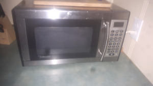 microwave and coffee maker make an offer