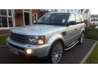 "FULLY LOADED RANGE ROVER SPORT TV/DVD SUNROOF XENONS 22"" COSWORTHS"