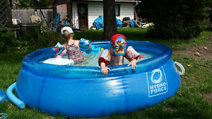 8 foot hydro-force pool